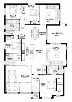 single storey house plans australia soul 27 single level floorplan by kurmond homes new