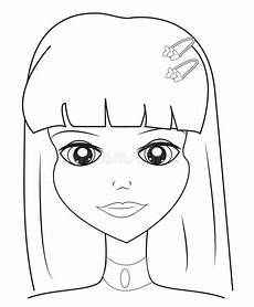 colouring pages of s faces 17844 s coloring page stock illustration illustration of abstract 52718506