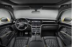 bentley mulsanne interior autocar