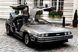 Original Restored DeLorean From Back To The Future Films