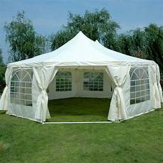 tent gazebo quictent 2016 9 x 6 5m octagonal heavy duty wedding