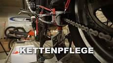 motorrad kette reinigen motorrad kette reinigen schmieren mit kettenmax premium