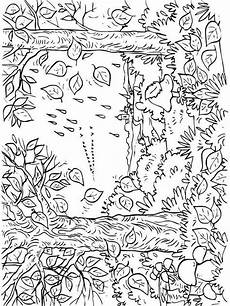 Ausmalbilder Herbst Erwachsene Autumn Coloring Pages And Print Autumn Coloring