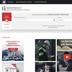 commercio registro imprese camcom gov it camere di commercio d italia