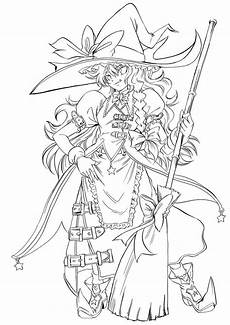 Anime Malvorlagen Free Anime Coloring Printable Pages Witch Coloring Pages