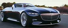 Revelation Of Luxury Vision Mercedes Maybach 6 Cabriolet