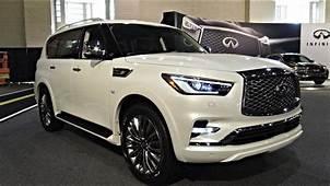 Infinity SUV QX80 2018 Interior & Exterior POV Review