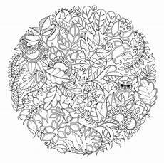 Ausmalbilder Erwachsene Wald Wald Mandala Malvorlagen Malen Ausmalbilder