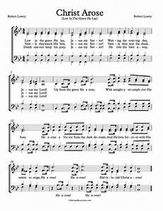 free choir sheet music christ arose low in the grave he lay michael kravchuk