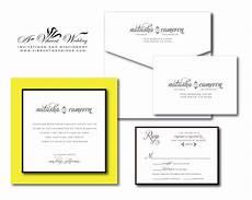 black white and yellow wedding invitations yellow wedding invitation a vibrant wedding invitations