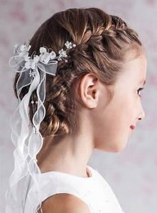 Kommunion Frisuren Für Mädchen - kommunionfrisuren zum selbermachen festliche