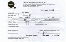 wbbbb accounting management services source document sle official receipts