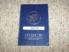 car owners manuals free downloads 1990 buick reatta auto manual 1990 buick reatta coupe convertible owner owner s manual user guide 3 8l v6 ebay