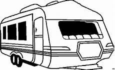wohnmobil anhaenger ausmalbild malvorlage die weite welt