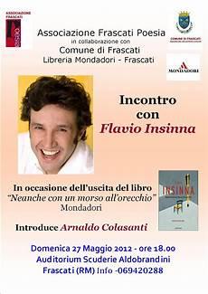libreria mondadori frascati castelli romani flavio insinna alle scuderie aldobrandini