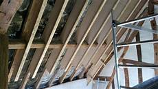 isolation de toiture en ouate de cellulose et fermacell