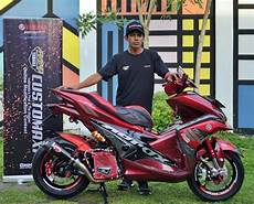 Aerox 155 Modif Touring by Modifikasi Yamaha Aerox 155 Kobayogas Your