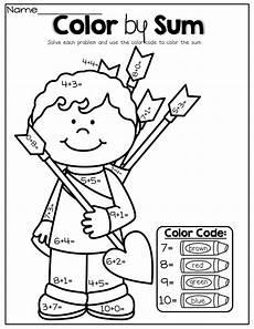 addition colouring worksheets year 1 9863 february no prep packet kindergarten kindergarten school math school worksheets