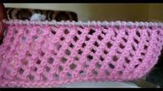 lace knitting pattern easy knitting 34 - Einfaches Lochmuster Stricken