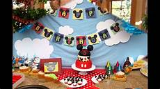 awesome mickey mouse clubhouse birthday decoration