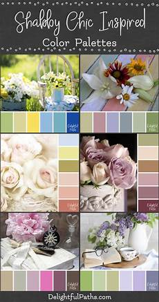 shabby chic farbe shabby chic inspired color palettes delightful paths