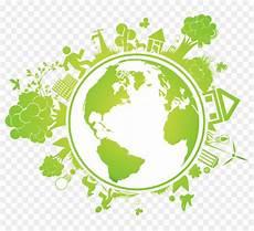Bumi Logo Rumah Hijau Gambar Png
