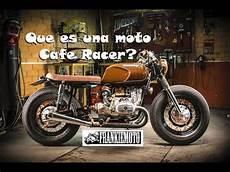 Moto Cafe Racer Que Es que es una cafe racer
