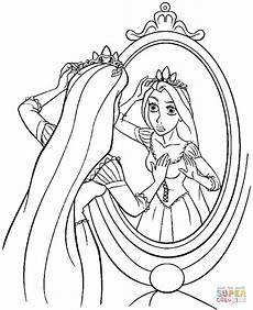princess rapunzel coloring page free printable coloring