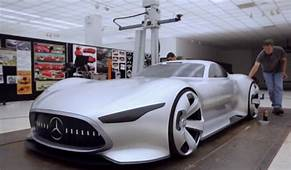 Making The Mercedes Benz AMG Vision Gran Turismo Concept