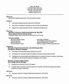 resume sle for mechanical maintenance enginer free 8 sle maintenance resume templates in pdf ms word