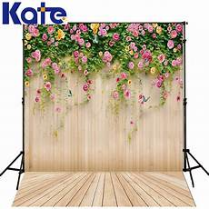 Flower Wall Floor Backdrop Photography Photo by Aliexpress Buy Kate Wedding Photography Background