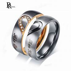 his queen her king wedding bands ring real love heart promise gift rings 6mm stainless steel