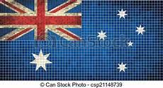 australian flag mosaic flag of australia australian national flag abstract grunge mosaic
