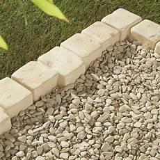 bordure de jardin en beton bordure droite castel larzac b 233 ton brun flamm 233 h 8 x l 50