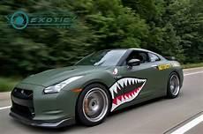 Matte Green Nissan Gtr Osg