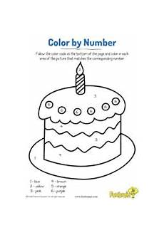 birthday color by number worksheet 16090 sweet cupcake color by number coloring page printable earlylearning prek new