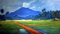 Lukisan Pemandangan Senilukismelukis