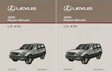 motor auto repair manual 1999 lexus lx auto manual 1999 lexus lx 470 shop service repair manual book engine drivetrain oem ebay