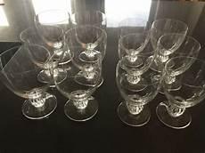 bicchieri lalique lalique bicchieri collezione completa di 12
