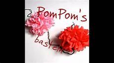 pompoms selber basteln pompoms aus servietten schnell und einfach selber basteln