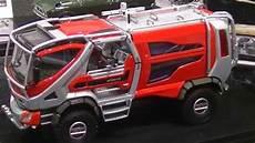 モリタ 林野火災消防車コンセプトカー morita wildfire truck miracle cafs type concept car 全日本模型ホビーショー2014 youtube