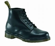 dr martens 6 loch 101z black bw smooth 10064001