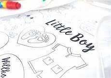 gratis babyparty malvorlagen f 252 r jungen baby belly