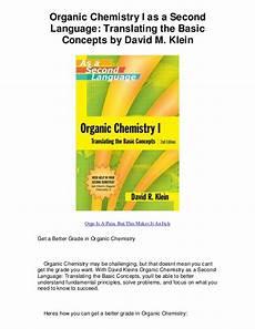organic chemistry i as a second language translati makes