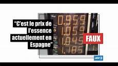 prix du diesel en espagne non cette photo n illustre pas les prix 224 la pompe en espagne en 2018 factuel