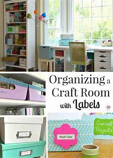 organizing a craft room with labels organized 31