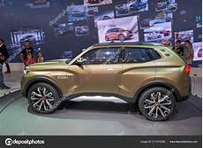 Moscow Aug 2018 View Lada Stand New Concept Road Car