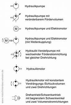 schaltzeichen fluidtechnik pneumatik hydraulik