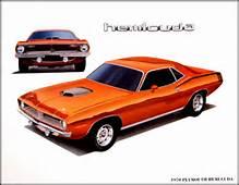 Dodge Plymouth Mopar Muscle Car Print Lithograph Set 2  EBay