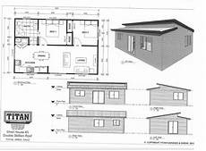 skillion roof house plans titan homes 5 double skillion roof 54m2 www